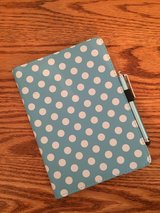 Blue Polka Dot Case for iPad Mini in Aurora, Illinois