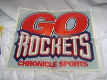 Collectible Houston Rockets NBA Newspaper Poster Publication 1995  Championship in Kingwood, Texas
