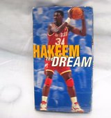 Collectible Houston Rocket NBA Hakeem Olajuwon VHS 1995 Publication Championship in Kingwood, Texas