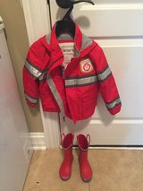 Boys rain coat and boots Carters - Firefighter in Bolingbrook, Illinois