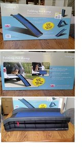 Folding Pet Ramp by Travel Hound (Model # 62423) in Houston, Texas