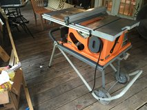 Ridgid table saw 10' blade in Houston, Texas