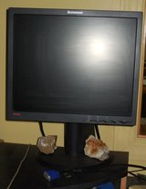Computer monitor Lenovo 14 inch adjustable height in Fort Campbell, Kentucky