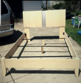 Queen bed frame with dressser in Cleveland, Ohio