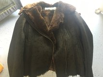 Jessica Simpson suede coat in Fort Campbell, Kentucky