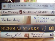 Nicholas Sparks books (Lot of 5) in Naperville, Illinois