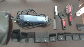 Oster A5 turbo dog grooming clippers in Temecula, California