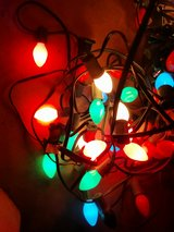 vintage xmas lights ( small bulbs ) in Fort Bliss, Texas