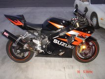 2004 Suzuki GSXR 600 (Black/Orange/Special Edition) (Insp Passed 19 May 16) in Ramstein, Germany