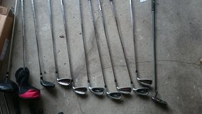 Used Nike Ignite Irons (4,5,6,8,P) + XV 7/9 Driver/3 Wood + Nike 2010A Milled Putter in Ramstein, Germany