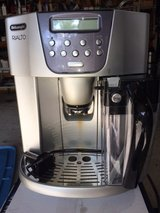 Delonghi Rialto Super Automatic Coffe Maker and Espresso Machine in Houston, Texas