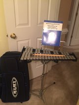 Mapex Xylophone with travel case (with wheels) and book in Fort Belvoir, Virginia