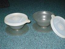 tupperware pudding cups w/lids in Oswego, Illinois