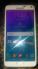 Samsung Galaxy Note 4 VERIZON (Works with Straight Talk) W/Stylus in Fort Polk, Louisiana