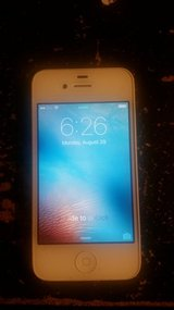 iPhone 4s 16gb (Unlocked) AT&T w/Case in Fort Polk, Louisiana