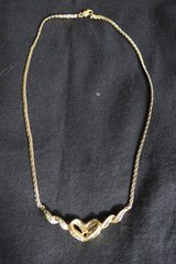 Two tone picture locket and heart necklace in Algonquin, Illinois