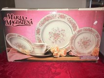 Maria Magdalena Pink Roses 5 piece 6 setting 30 total dishes dish set in Camp Lejeune, North Carolina