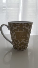 2015 Godiva Gold & White Design Coffee/Latte/Cup/Mug in The Woodlands, Texas