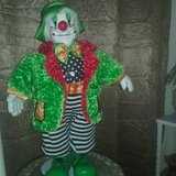 Greenie The Clown in Fort Sam Houston, Texas