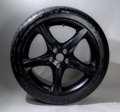 """4 Ford Racing 18"""" Wheels (black) and tires - $980 (Jacksonville) in Camp Lejeune, North Carolina"""