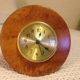 Wood Clock in Honolulu, Hawaii