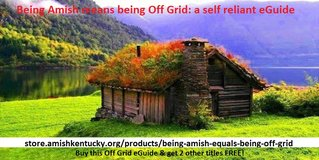 Being Amish means being Off Grid in Cleveland, Ohio