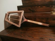Antique wooden miami tennis racket in Cleveland, Texas