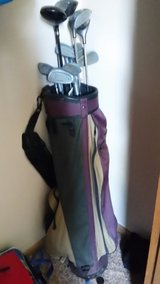 Right handed golf clubs and bag in Alexandria, Louisiana