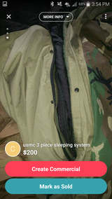 3 piece sleeping system in Camp Pendleton, California