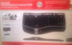 Microsoft Natural Ergonomic Keyboard 4000 - New in Box in Fort Campbell, Kentucky