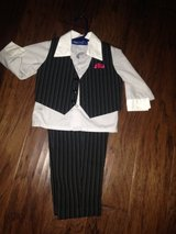 Baby boy 3 piece suit Pin stripe in Camp Lejeune, North Carolina