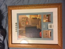 solid oak picture frame in Eglin AFB, Florida