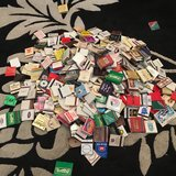 Matchbook collection in Lakenheath, UK