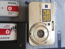 Sony digital camera w/Zeiss lens! in Naperville, Illinois
