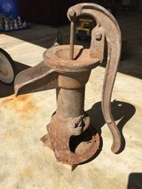 Antique well pump in Chicago, Illinois