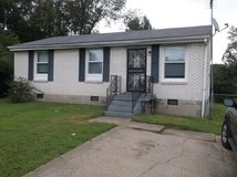 3 Bedroom, 1 Bath House, Central Heat and Air, Fenced Yard, Utility Room, Pets OK in Fort Campbell, Kentucky