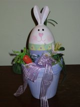 "8"" bunny in flowerpot in Plainfield, Illinois"