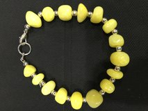 Sunshine Yellow Dog Necklace in Kingwood, Texas