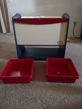 little tikes toy chest ( wood) in Fort Bliss, Texas