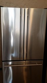 Beautiful Jenn Air stainless french door refrigerator in Houston, Texas