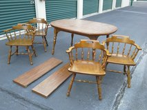 SOLID, AMERICAN MADE. TABLE W CHAIRS in Virginia Beach, Virginia