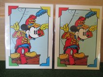 Mickey Mouse cards in Camp Lejeune, North Carolina