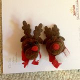 Reindeer Pierced Earrings in Batavia, Illinois
