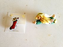 Christmas Pins (Stocking, Angels) in Glendale Heights, Illinois