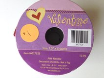 Valentine day ribbon in Batavia, Illinois