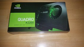 nvidia quadro k2200 4 gig 4k gpu card 4096 x 2160 res in Philadelphia, Pennsylvania