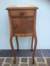 Antique Wood nightstand from France in Ramstein, Germany