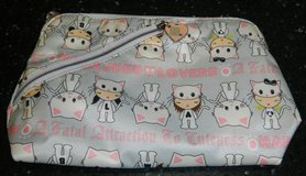 Gwen Stefani HARAJUKU LOVERS Kitty Cat Cosmetic Make-Up Bag A Fatal Attraction To Cuteness in Kingwood, Texas
