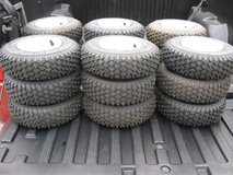 TIRES FOR MOWER DOLLY WAGON GO-CART MINI BIKE SNOWBLOWER CART in Bartlett, Illinois