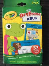 ABC dry erase learning cards in Ramstein, Germany